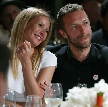 Gwyneth Paltrow Chris Martin dinner