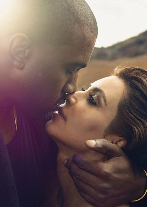 Kanye and Kim Vogue 1