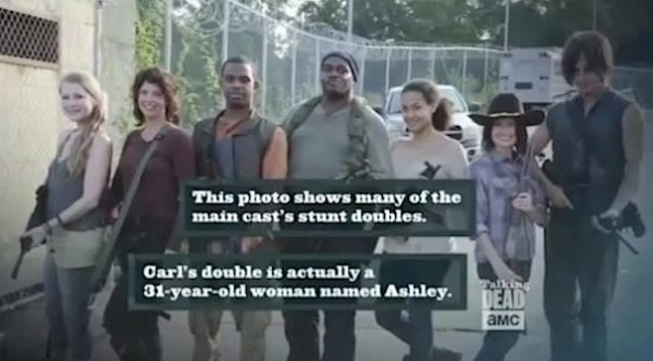 walking dead stunt doubles season 4