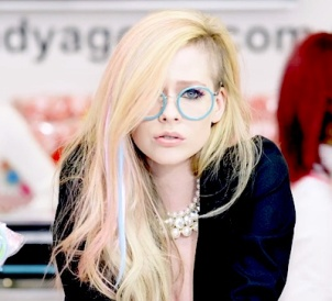 Avril lavigne glasses hello kitty still