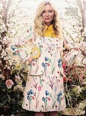 Kirsten Dunst Harper's Bazaar 2014 2