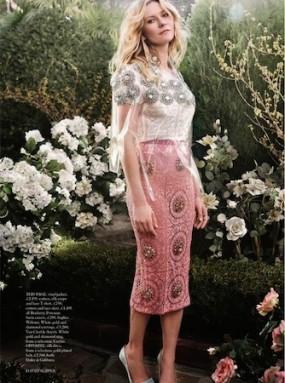 Kirsten Dunst Harper's Bazaar 2014