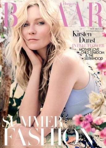 Kirsten Dunst harpers cover 2014