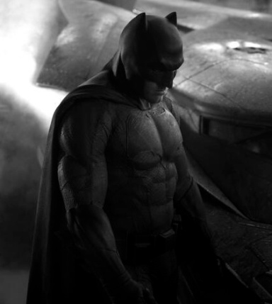 Ben Affleck first batman image