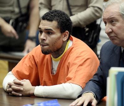 Chris Brown court 2014