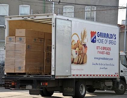 grimaldi's stolen bread truck