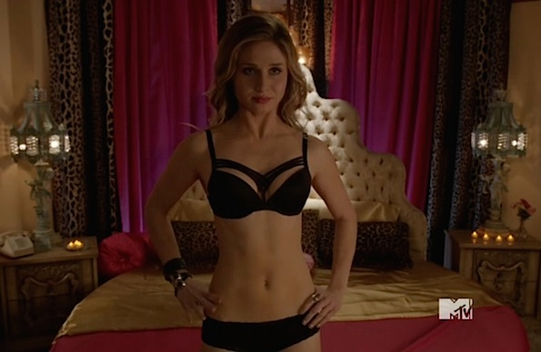 Rita Volk underwear Faking It