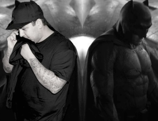 Rob Kardashian sad batman