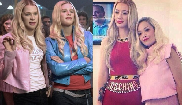 Iggy Azalea Rita Ora I white chicks