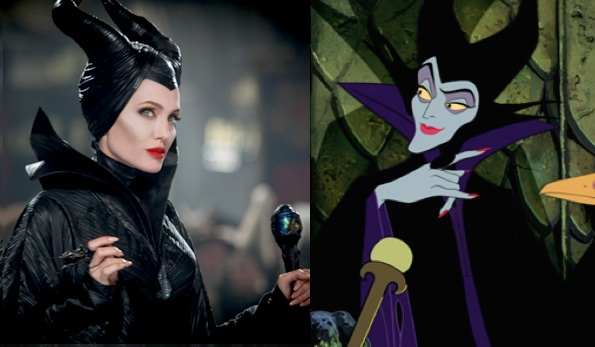 Maleficent new and old