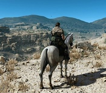 Metal gear solid phantom pain horse