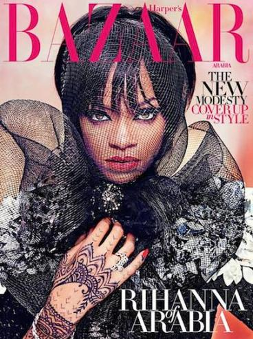 rihanna arabia cover