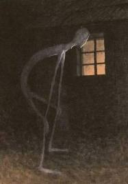 Slenderman in the window