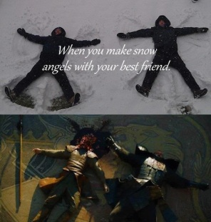 snow angels game of thrones