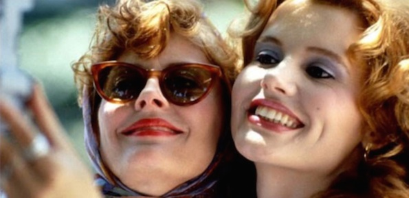 Thelma and louise invented selfie