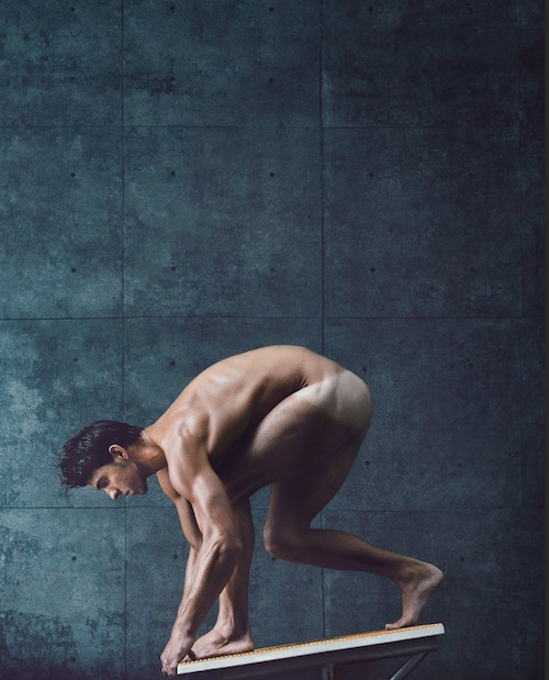 Amy Purdy and Michael Phelps Pose Totally Nude for