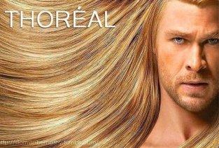 Thor hair meme