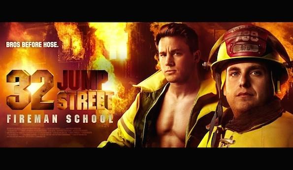 23 jump street fireman school