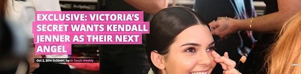 Kendall jenner headlines