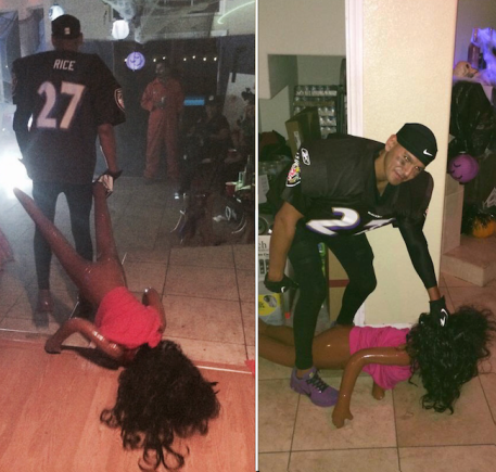 Ray Rice halloween costume