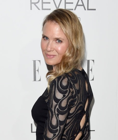 renee zellweger new face