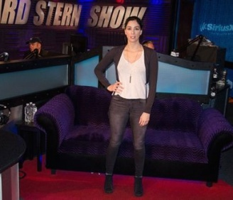 Sarah Silverman Howard Stern show 2014