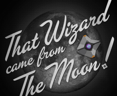 wizard came from the moon shirt