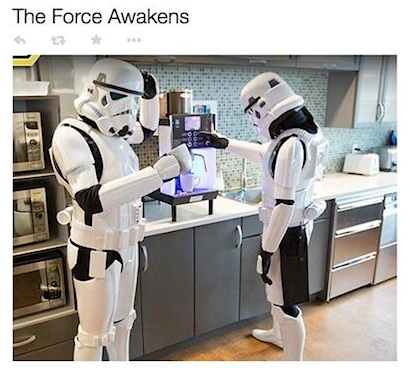 the force awakens meme