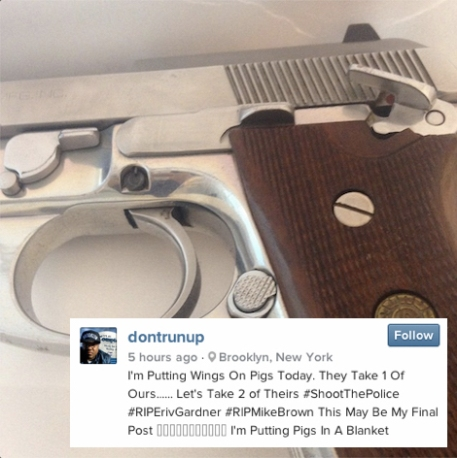 brooklyn shooter murder weapon instagram
