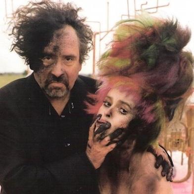 Tim Burton helena bonham makeup