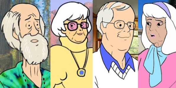 scooby doo characters old