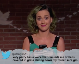 katy perry balls down throat tweet