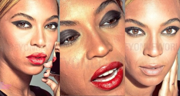 unretouched beyonce