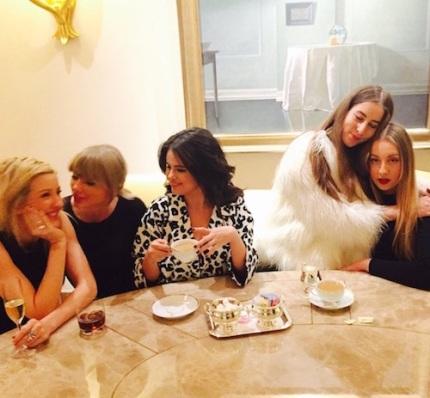 Ellie Goulding Taylor Swift Selena Gomez Haim
