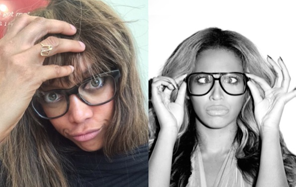 Tyra Banks Beyonce lookalike