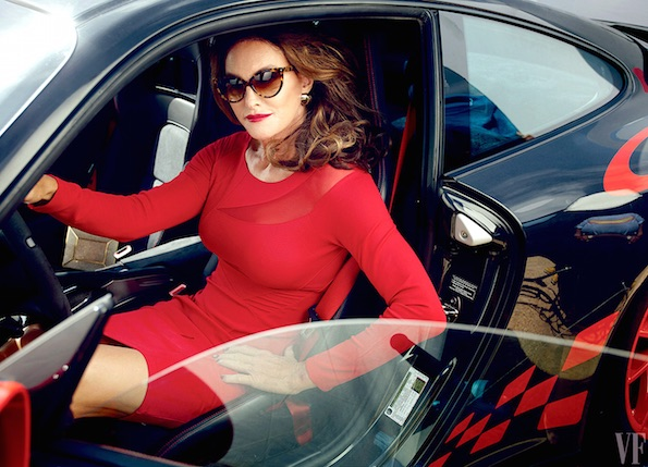 Caitlyn Jenner red dress
