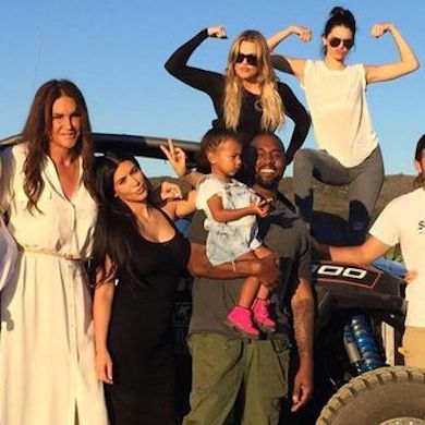 Kardashian family 2015